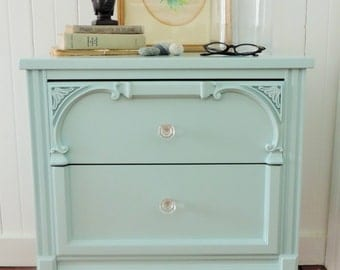 SOLD **** Side table // Bedside Table