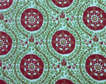 Suzani Designer Upholstery Fabric - Upholstery Fabric By The Yard