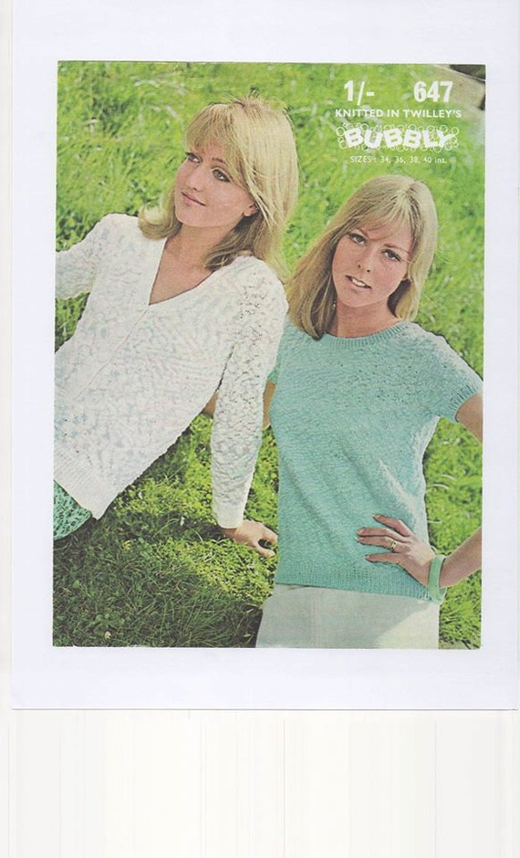 Knitting Pattern Ladies Short Sleeve Jumper : Ladies Short Sleeve Sweater Long Sleeve Cardigan Ladies