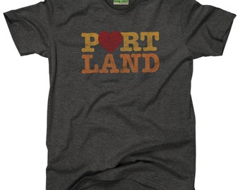 Heart Portland Kids T-Shirt
