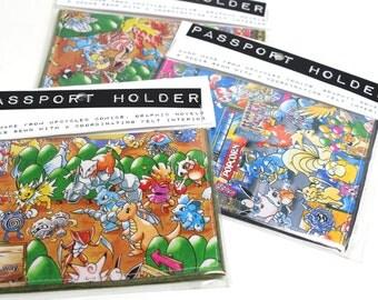 Pokemom Passport Cover NEW Assorted Styles
