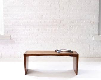 Fifty in a Sixty Five - Modern Walnut Bench