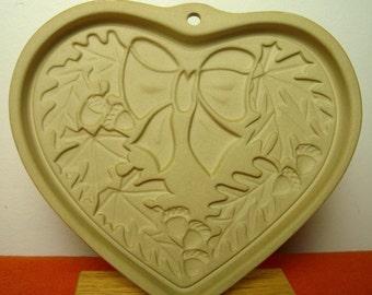 Oak Leaf Autumn Acorns Shortbread Mold Cookie Heart