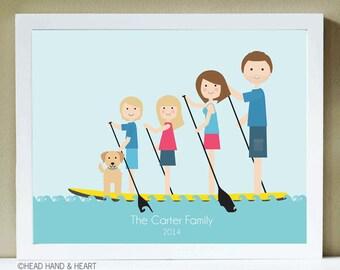 Paddleboard Clip Art Cliparts