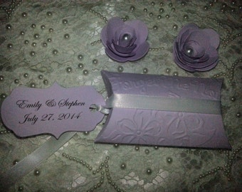 100 WILDFLOWERS WEDDING  FAVORS Custom Bride & Groom Names