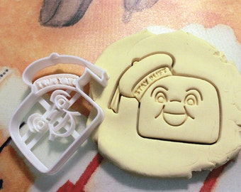 Ghostbuster Stay Puft Cookie Cutter