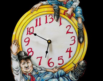 Laurel and Hardy Clock - Another Fine Time...