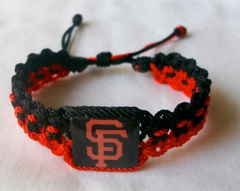 Choose your favorite Style of SF Giants Bracelets