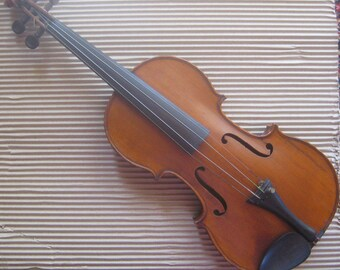 Antique Violin Jean Ouvrard Paris France