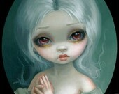 Wishful Thinking fairy art print by Jasmine Becket-Griffith 8x10 ghost spirit gothic angel