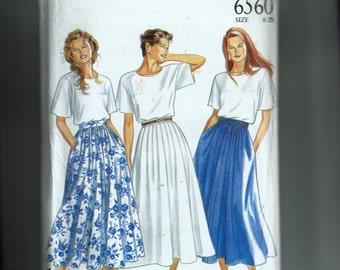 McCall's Misses' Skirt Pattern 6560