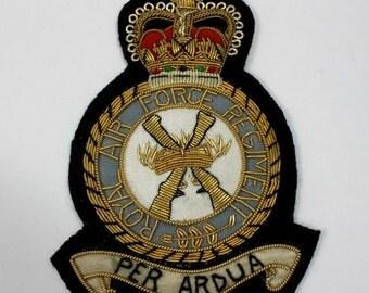 """4"""" Royal Air Force Regiment  Patch  #1276"""