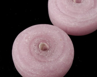 10mm Matte Pink Disk (6 Pcs) #1874