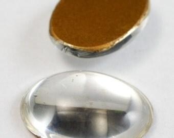 13mm x 18mm Crystal Oval Cabochon #FGA019