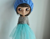Babydoll TUTU Skirt for Blythe-Lake