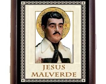 Jesus Malverde Cigarette Case -Patron Saint of Drug Dealers Wallet Holder