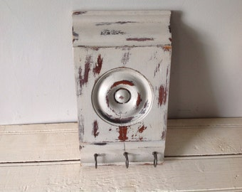 SALE Architectural Salvage Upcycled Shabby Chic Key Holder