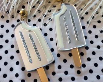 Acrylic Ice Cream Popsicle Earrings