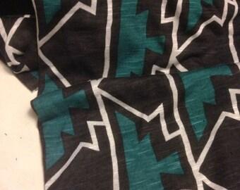 Jersey Knit Print Fabric 1 Yard
