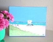 PALM BEACH Original Painting