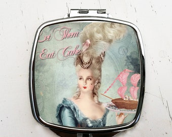 Marie Antionette Compact Mirror