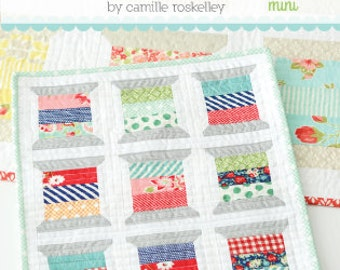 MINI Spools quilt pattern from Thimble Blossoms
