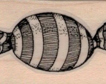 Whimsical Candy rubber stamp     whimsical  by Mary Vogel Lozinak  tateam EUC team  19403