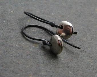 Minimalist Earrings Sterling Silver Earrings Petite Drop Earrings II