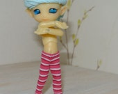 pink stripe Leggings For CCC Firefly Faeries