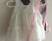Baby girl organdy slip -,RESERVED