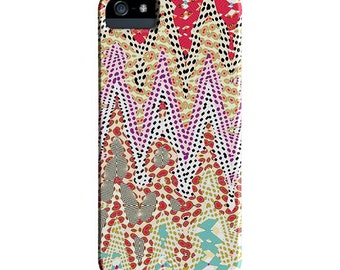 Geometric, colorful, iPhone 6 Case, iPhone 6s case, chevron, iPhone cover, hard plastic, iPhone 5S case, iPhone 6s plus case, Galaxy S7 Case