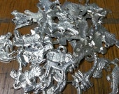 SALE, SALE - All Animal milagros Lot - For altars, scrapbooking, mixed media, and jewelry.