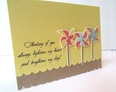 Thinking of you Greeting Card Friendship