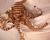 Octopus Amigurumi Stuffed Toy Plush Crochet Pattern