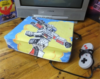 Transformers WRETRO WRAPPER console dust cover