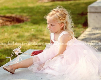 Flower Girls Dress Pale Pink