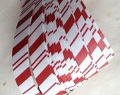 """5/8"""" Weaving Paper Star Strips ~Candy Cane Stripes (50 strips)"""