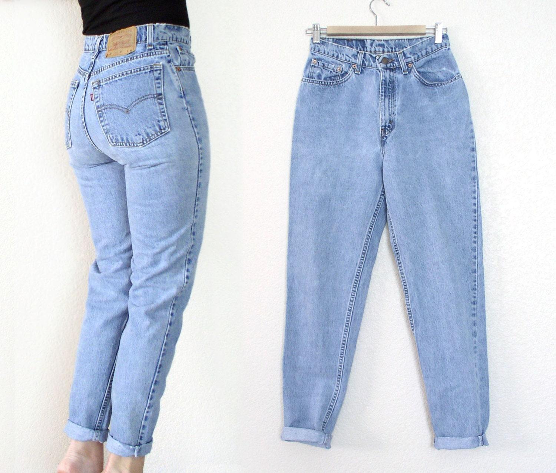 vintage 80s 90s high waist levi 39 s 512 tapered leg jeans. Black Bedroom Furniture Sets. Home Design Ideas
