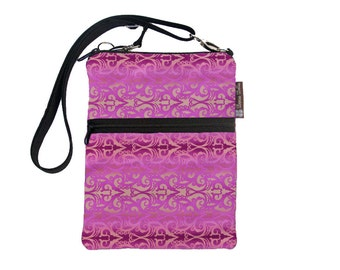 Kindle Case / Kindle Fire Cover / Kindle Touch Bag / Nook Bag / Padded eReader Case / TRAVEL BAG  fits WITH Cover- Pretty in Pink