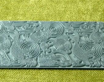 Carp  Koi Rubber Texture Tile Stamp