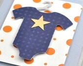 Baby Boy Card. Baby Congratulations Card. Baby Shower Card. Pregnancy Congratulations Card