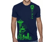 Men's Seattle ninja T shirts