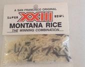 Joe Montana and Jerry Rice NFL  Super Bowl Football Memorabilia