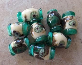 stoursglass  Murrini and Shard Lampwork Beads