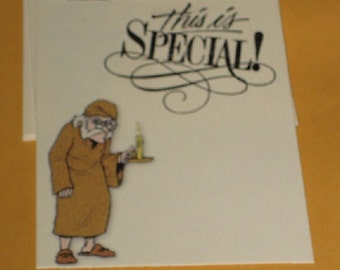 This is Special Gift Tags with Scrooge