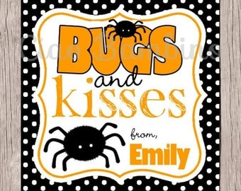 Massif image throughout bugs and kisses printable