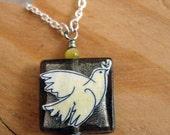 Picasso Rising Dove of Peace Pendant