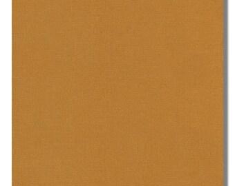 GOLD - Kona Cotton Fabric, By the Yard, K001-1154