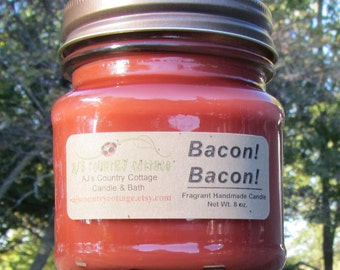 BACON!  BACON!   Candle - Meat