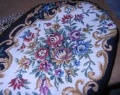 Reserved for Sandy Chiang Purse Tapestry Floral Garden Victorian